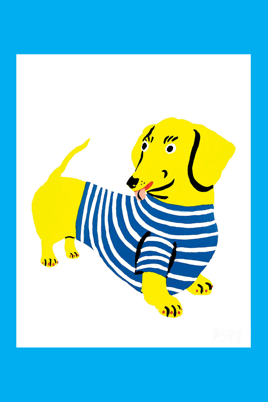 Dachshund Pet Store Dog Print
