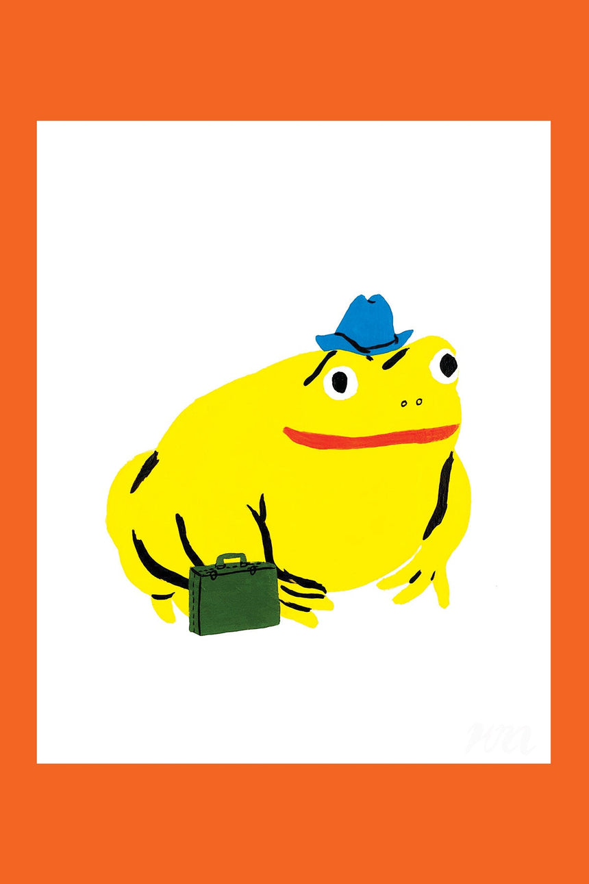 Traveling Toad Pet Store Print