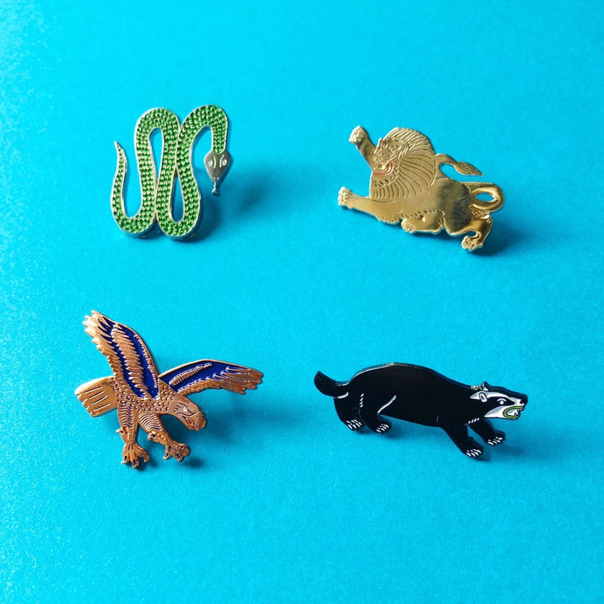 Badger Lapel Pin