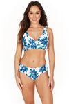 Hakuna Matata Louise Cross Over Design Tummy Control Bikini Set Swimsuit - Final Sale