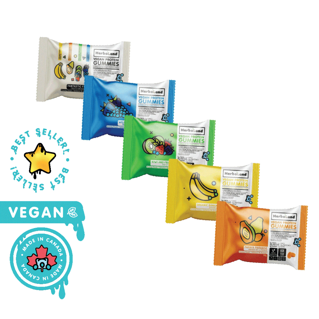 Vegan Protein Gummies (Compostable Packaging) - Go Mawi