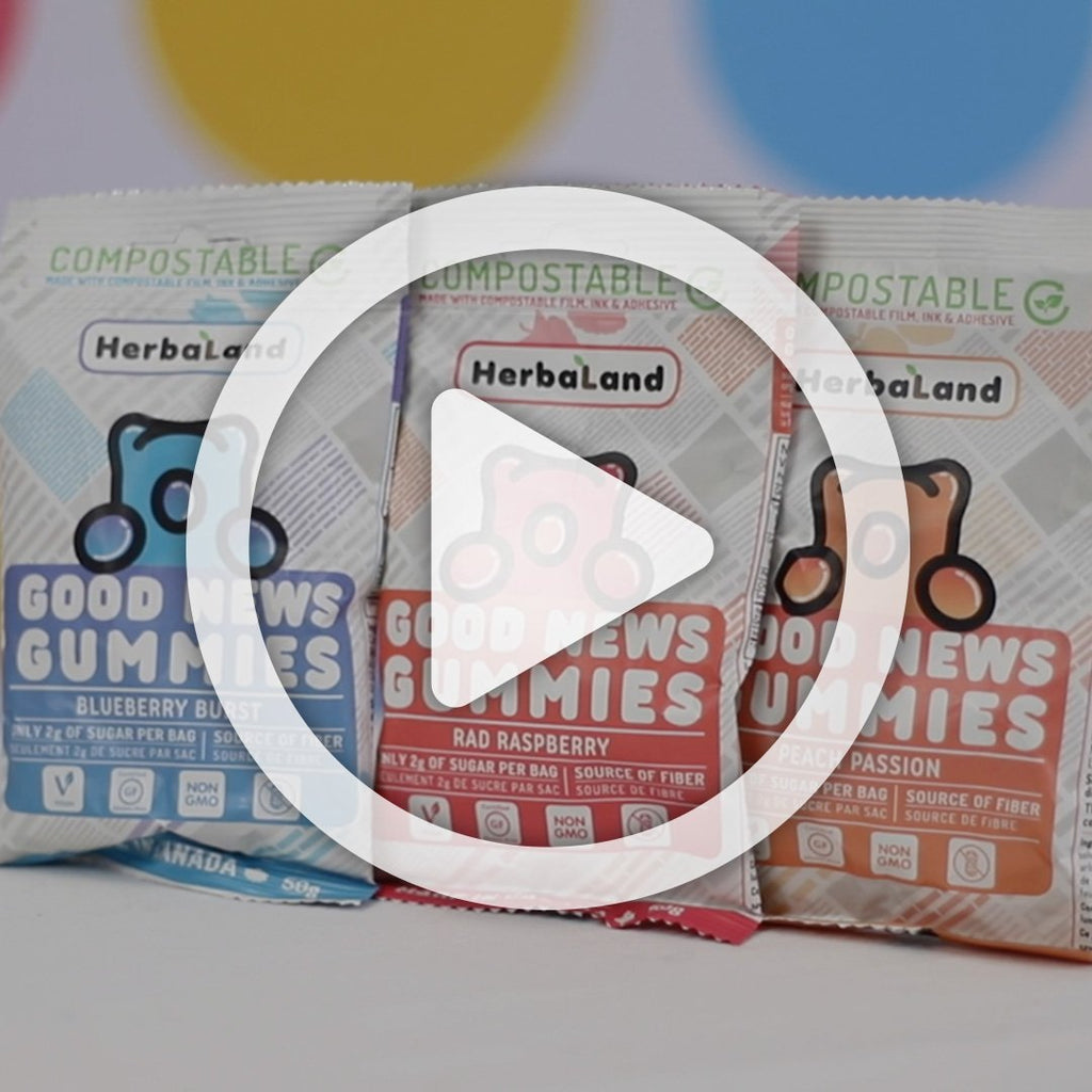 Good News Gummies Blueberry | Clean Candy | Case - Go Mawi