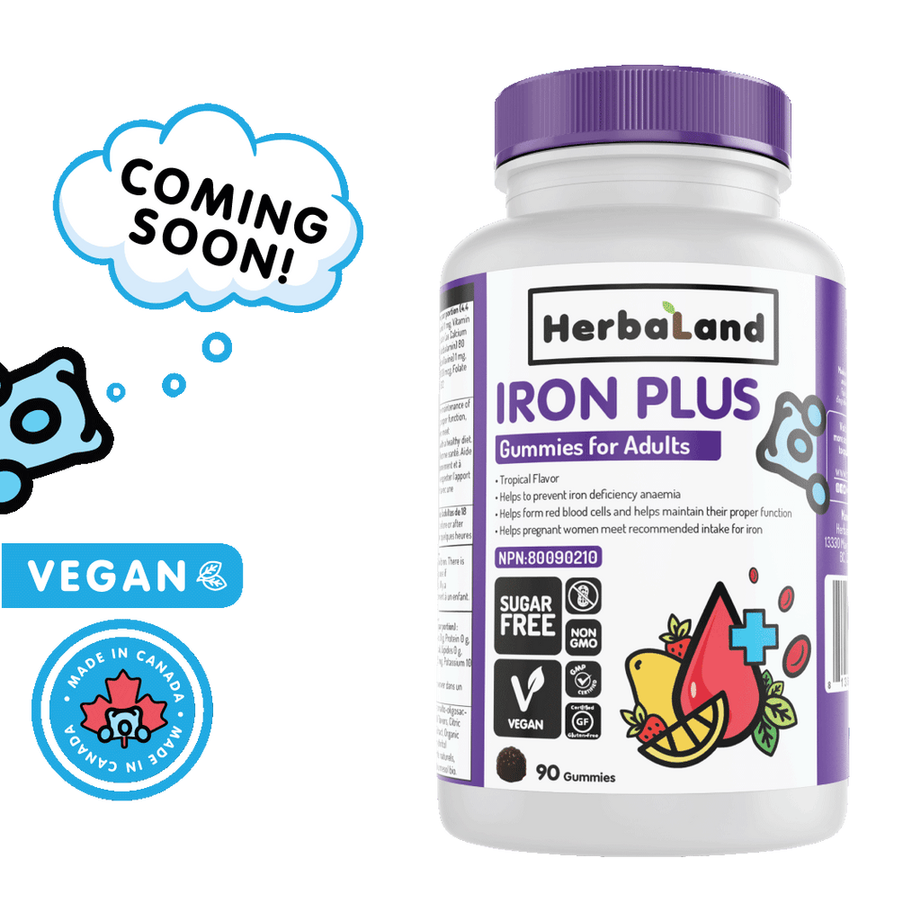 Iron Plus Gummies for Adults (Sugar-Free) COMING SOON! - Go Mawi