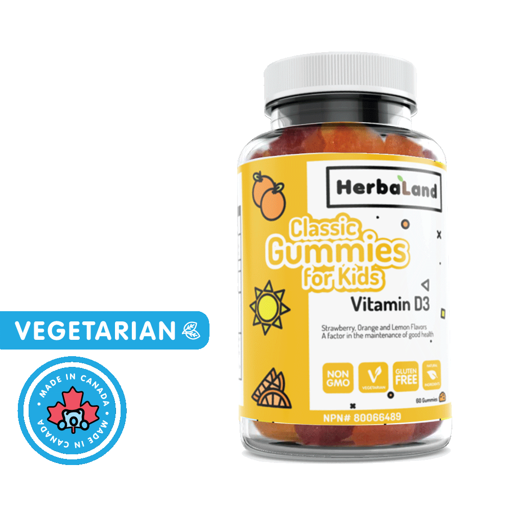 Vitamin D3 Classic Gummies for Kids - Go Mawi