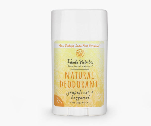 Natural Deodorant (grapefruit + bergamot)