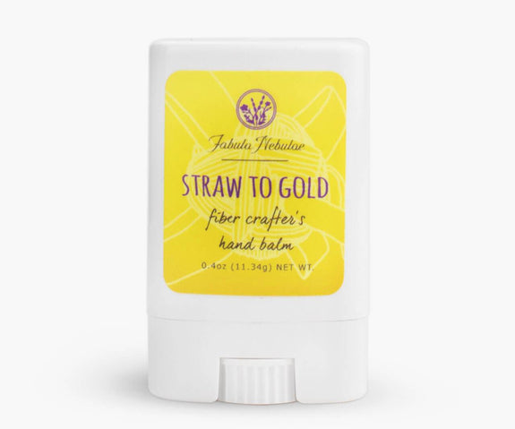 Straw to Gold fiber crafter's hand balm 0.4oz