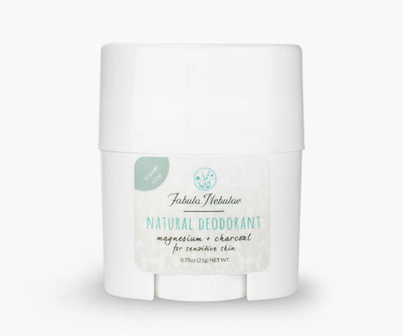 Travel size of our Natural Deodorant (magnesium & charcoal)
