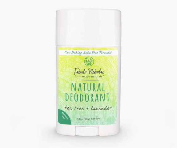 Natural Baking Soda Free Deodorant (original tea tree + lavender)