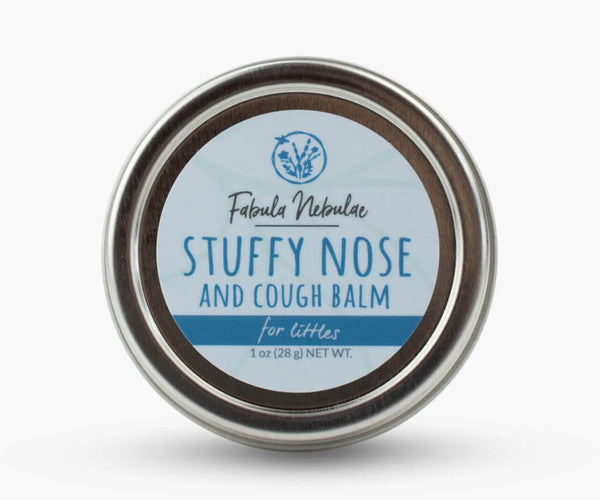 Stuffy Nose and Cough Balm for Little Ones