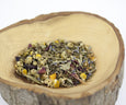 Midnight Moonbeams herbal loose leaf tea petals