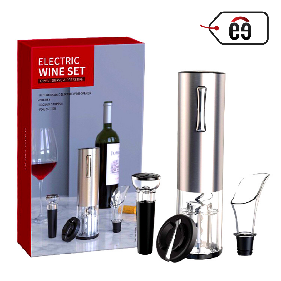 Electric Wine Opener (Stainless) [Set Of 5]