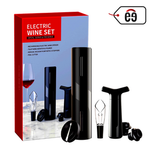 Electric Wine Opener (Black) [Set Of 7]