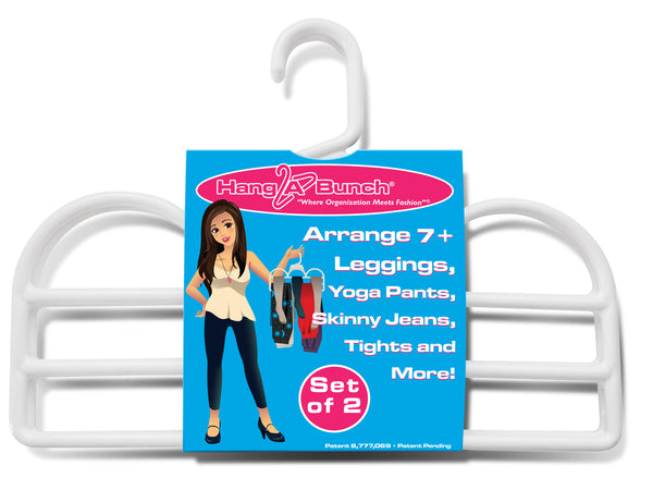Leggings Hanger - SET OF 2 - WHITE