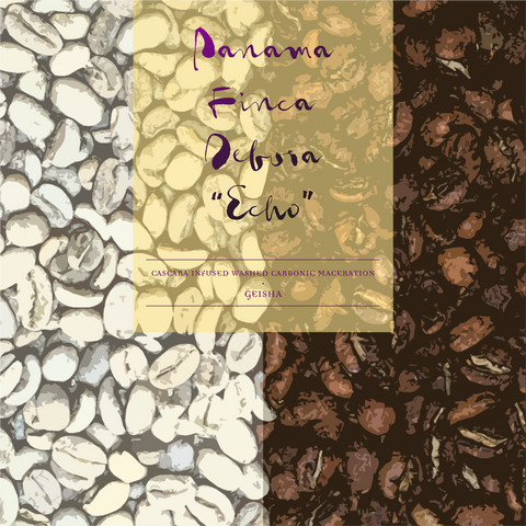 "Panama Finca Deborah - Savage Coffees Auction 2020 Lot 11a ""ECHO"""