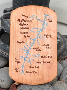 Bitterroot River Montana Fly Box