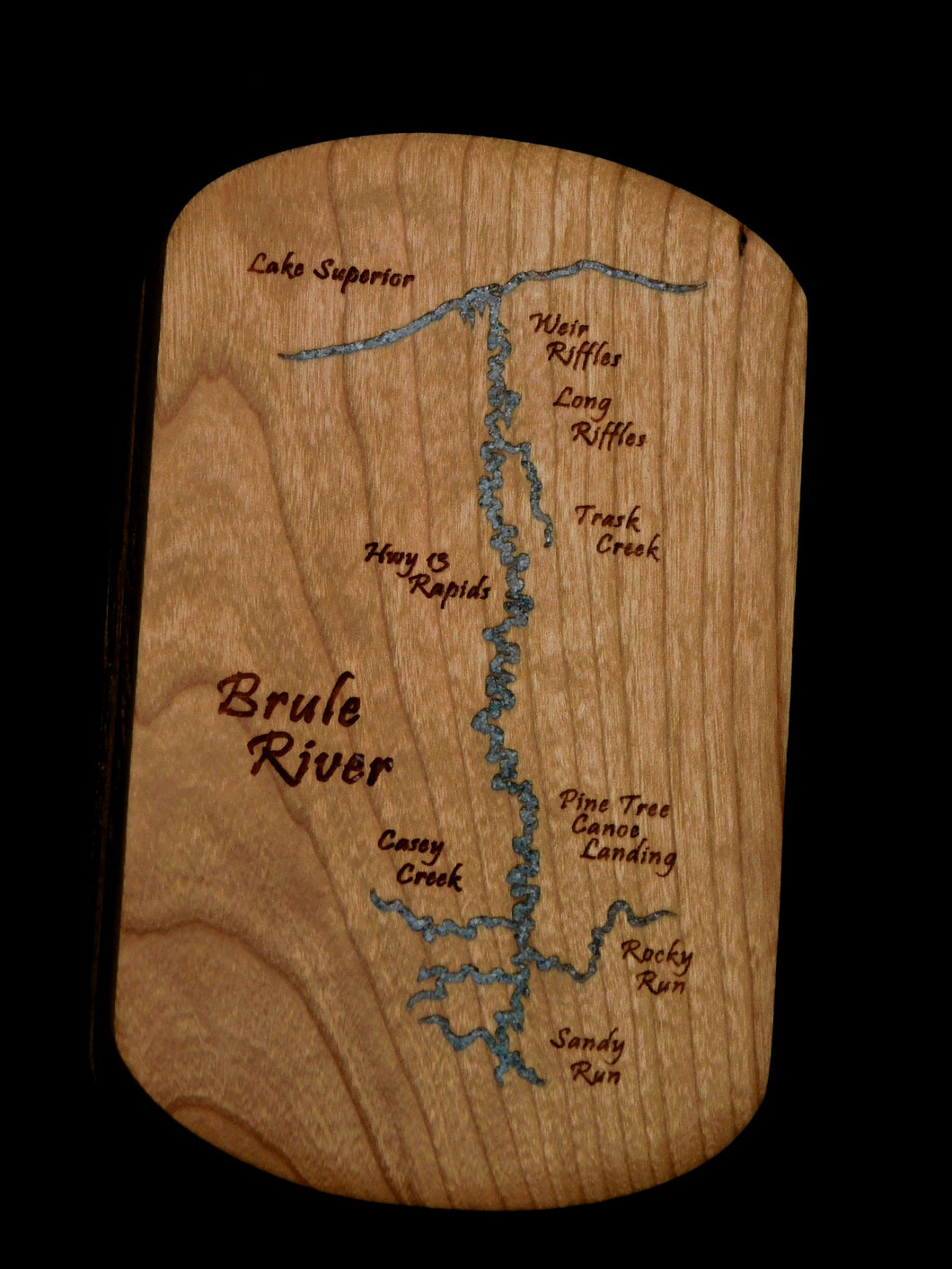 Brule River Wisconsin Fly Box