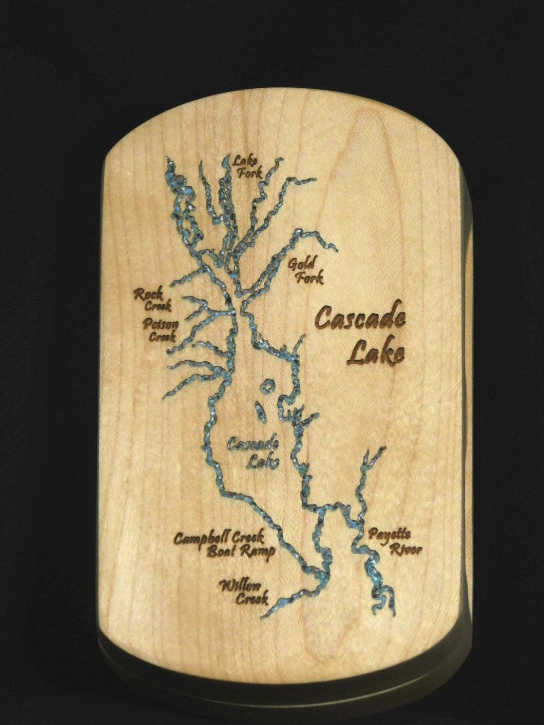 Cascade Lake Fly Box