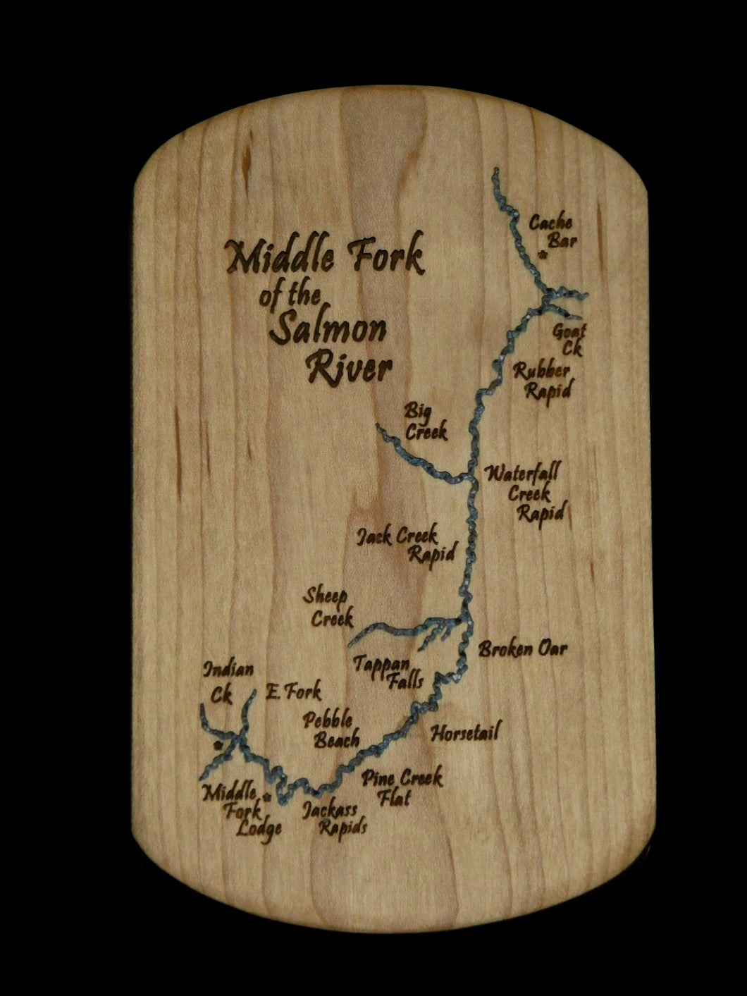 Salmon River Middle Fork Rafting Version