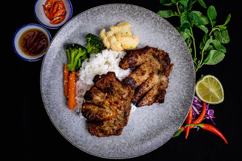 Lemongrass Pork Chops