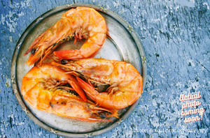 Braised Prawns in spicy pepper sauce