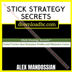 Alex Mandossian Stick Strategy Secrets free download idownloadprogram