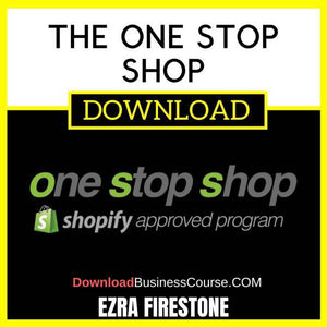 Ezra Firestone The One Stop Shop free download idownloadprogram