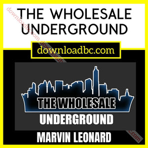 Marvin Leonard The Wholesale Underground