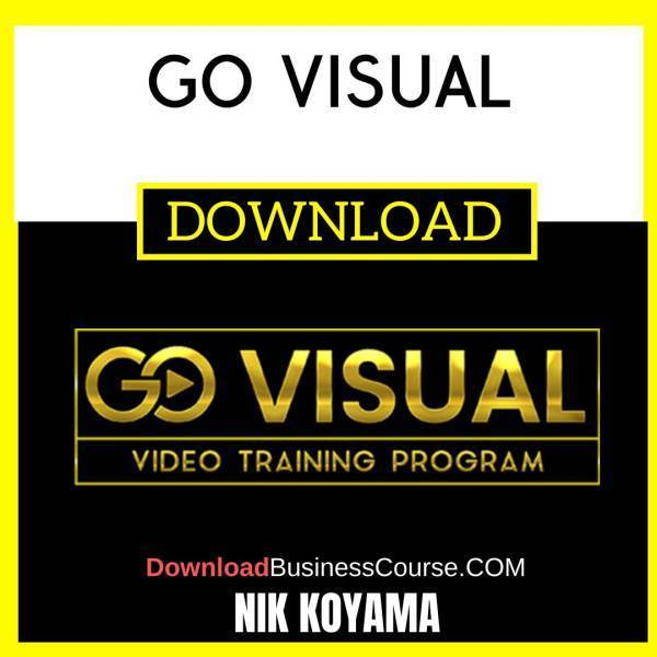 Nik Koyama Go Visual FREE DOWNLOAD iDownloadProgram