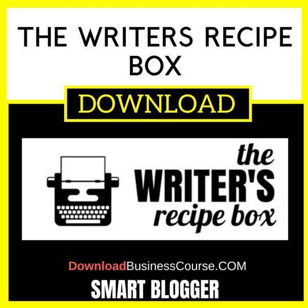 Smart Blogger The Writers Recipe Box FREE DOWNLOAD iDownloadProgram