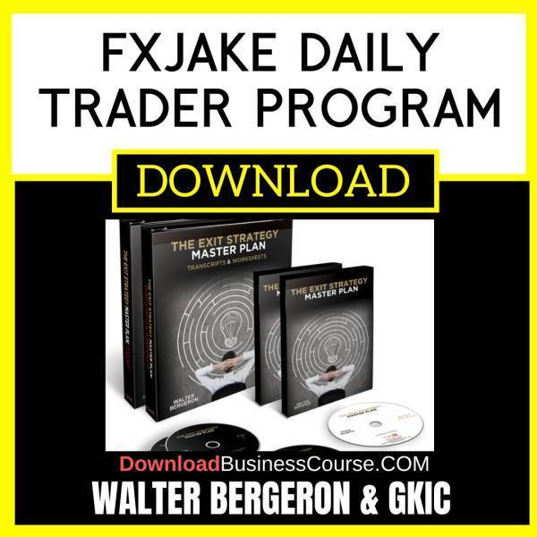 Walter Bergeron Gkic The Exit Strategy Master Plan FREE DOWNLOAD iDownloadProgram