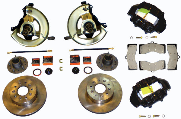 1963-1964 Front Four Piston Brake Conversion Kit (1963-1965)