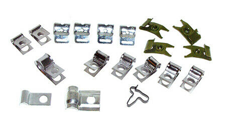 Brake and Fuel Line Clip Kit (1963-65)