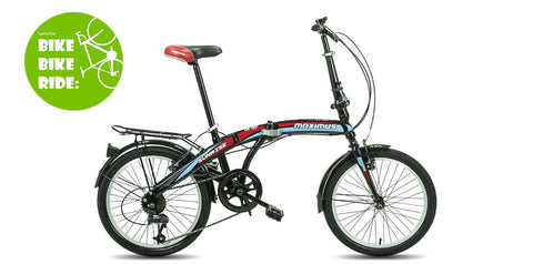 จักรยานพับ Maximus Sunrise Folding Bike, 7 sp, 20""