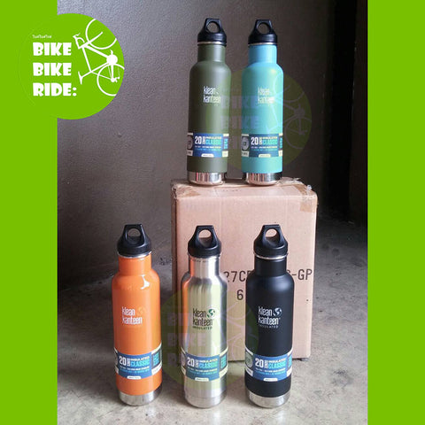 กระติกน้ำ Klean Kanteen รุ่น Insulated 20 oz/ Klean Kanteen BPA-Free Bottle, insulated
