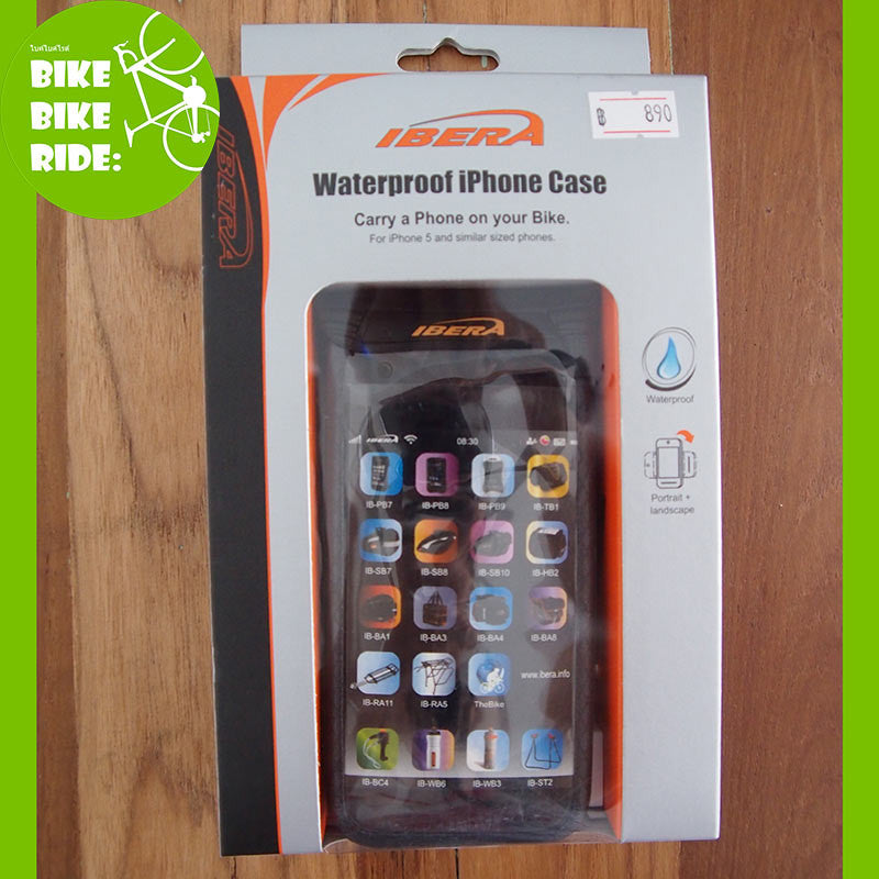 Ibera Waterproof iPhone Handlebar Case