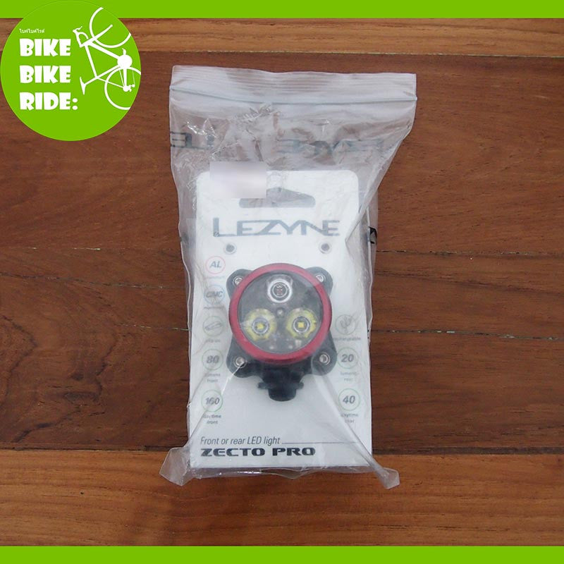 ไฟจักรยาน Lezyne Zecto Drive Pro 80/20 Lumens USB LED Front or Rear Light