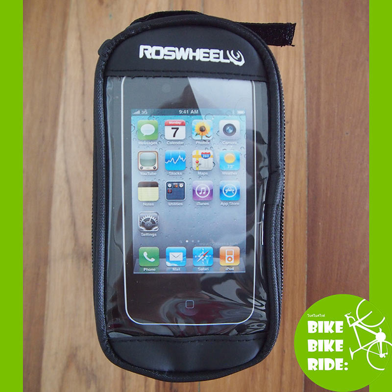 กระเป๋าติดเฟรม Roswheel,Roswheel I-Phone Top Tube Frame Bag, size S