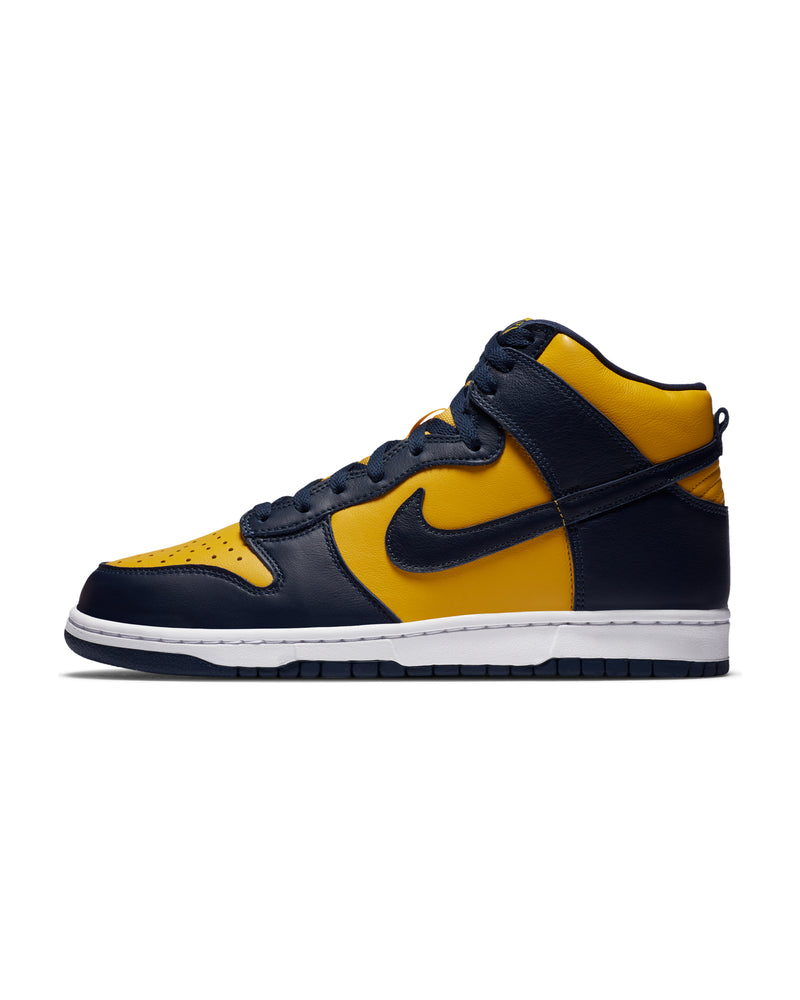 "DUNK HI SP ""MICHIGAN"" - VARSITY MAIZE / MIDNIGHT NAVY"