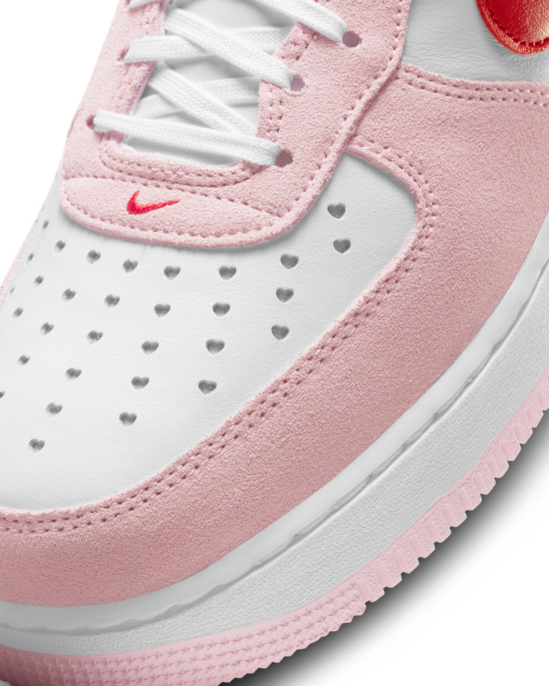 "Air Force 1 ""Love Letter"" - White / Red-Tulip Pink-White"