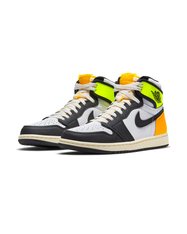 Air Jordan 1 'Volt Gold' - White / Black-Volt-University Gold