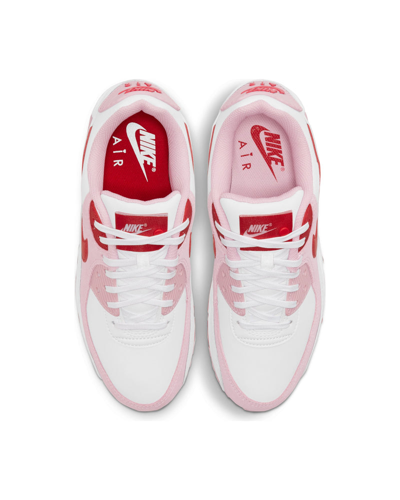 "Air Max 90 ""Love Letter"" - White / Red-Tulip Pink-White"
