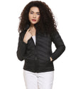 Women's Black Puffer Jacket