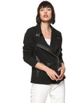 Full Sleeve Solid Women Stylish Casual Jacket