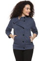 Women's Denim Blue Coat