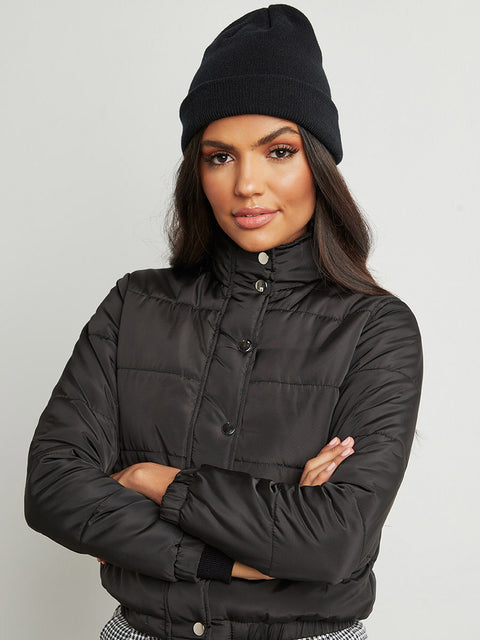 CampusSutra Women Solid Jacket
