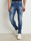 Campus SutraMen Navy Blue Denim Jeans