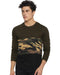 Men's Camouflage Full Sleeve T-shirt