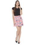 Pina Colada A-line Black, Pink Dress