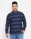 Instafab Men Plus Size Stylish Checkerd Casual Shirts