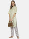 Instafab Women Stylish Solid Casual Kurta Ethnic Wear